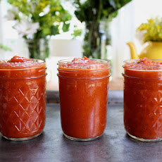 Homemade Spicy Ketchup