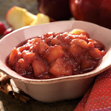 Chunky Raspberry Applesauce
