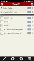 Screenshot of TeamViz