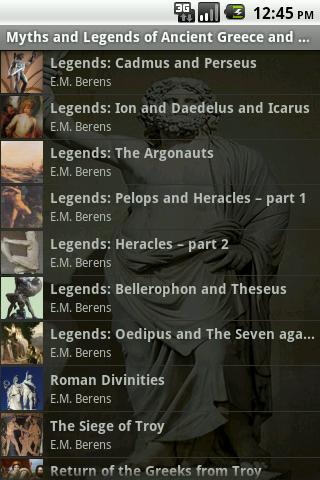 Legends Greece and Rome Part 3