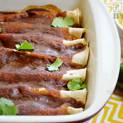 Beef & Pineapple Enchiladas