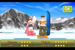 Screenshot of Snowboarding