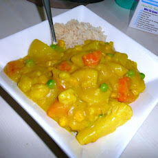 Veganised Comfort Food Curry