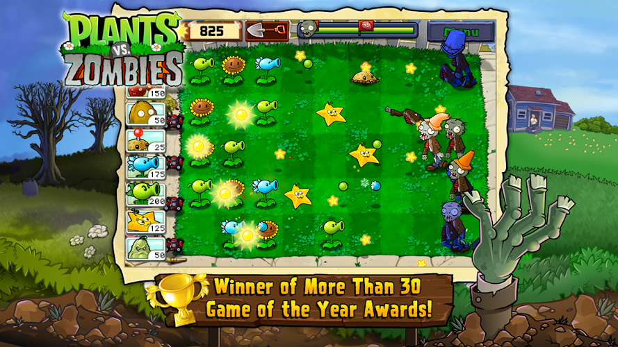Plants vs. Zombies FREE Android App Screenshot