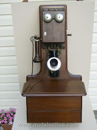 Wood Wall Phones - Western Electric 3 Jug 1