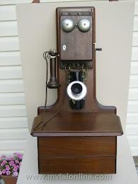 Wood Wall Phones - Western Electric 3 Jug 1