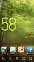 Screenshot of Yellow GO Reward Theme