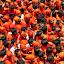 Crowd of GOVINDA by Thakkar Mj - People Street & Candids ( orange, ahmedabad, govinda, gujarat, rathyatra, india, crowd, people, humanity, society )