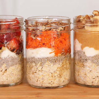 Overnight Oatmeal – 5 Delicious Ways!