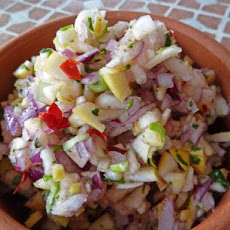 Apple Salsa With Cilantro and Lime