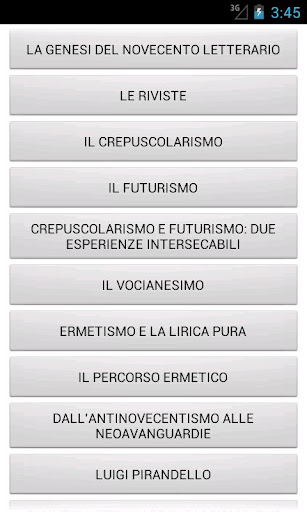 免費下載教育APP|Letteratura Italiana del '900 app開箱文|APP開箱王