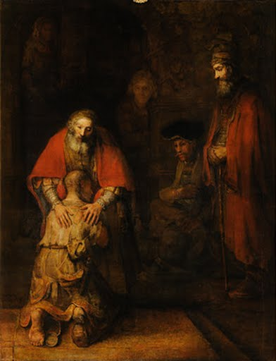 Return of the Prodigal Son, Rembrandt Harmensz van Rijn