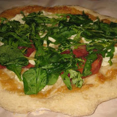 Biancoverde (Greens on White) Pizza
