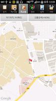Screenshot of Korea CBNU Campus Map