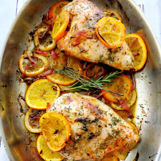 Herb and Citrus Roasted Chicken