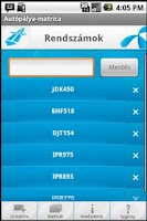 Screenshot of Autópálya-matrica