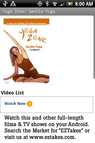 Yoga Zone: Gentle Yoga