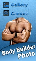 Screenshot of Man Body Builder Photo Montage