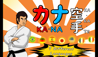 Screenshot of Kana Karate - Language Master