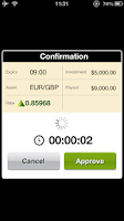 Screenshot of FMTrader - binary options