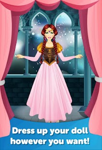 Medieval Dress Up Makeover - screenshot