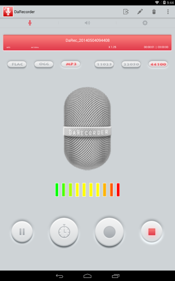 High Quality Voice Recorder Screenshot 11