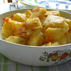 Oven-Roasted Parmesan Potatoes