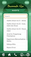 Screenshot of Sunnah GO