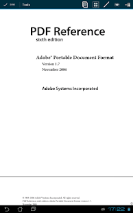 PDF and DJVU Reader- screenshot thumbnail