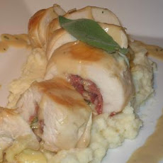 Italian Stuffed Chicken Breast With a Marsala Sauce