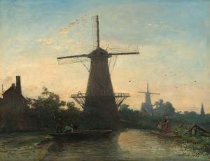 RIJKS: Johan Barthold Jongkind: painting 1857