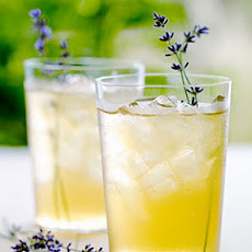 Iced Lavender Green Tea