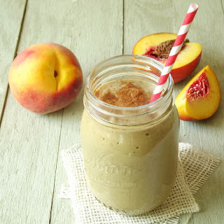 Avocado Peach Pie Smoothie
