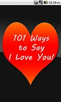 Screenshot of 101 Ways to Say I Love You