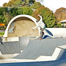Nose-Bluntslide! by Matty Hill - Sports & Fitness Skateboarding