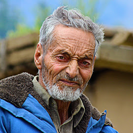 The young old man by Fawad Hashmi - People Portraits of Men (  )