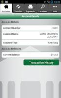 Screenshot of Nicolet Bank bankNow