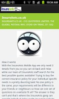 Screenshot of InsureAnts - Car Insurance