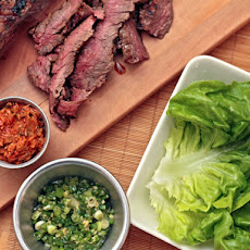 Dinner Tonight: Momofuku Steak Ssäm
