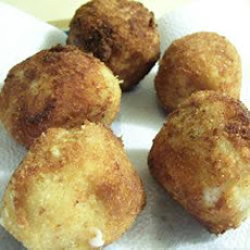 Leftover Potato Croquettes