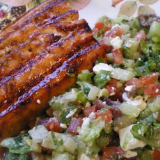Hoisin Glazed Salmon or Sea Bass