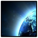 Bright cities on Earth icon
