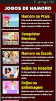 Screenshot of Jogos de Namoro