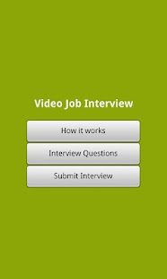 Job Ready - Video Interview - screenshot