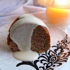 Fresh Apple Cake With Rum Sauce