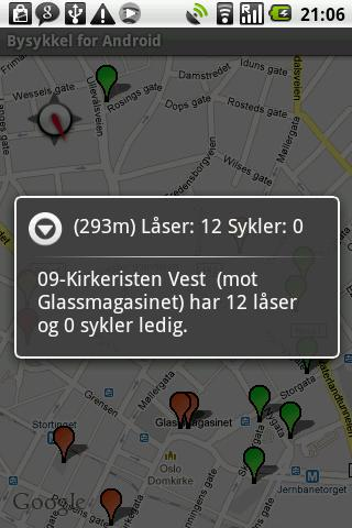 Bysykkel for Android