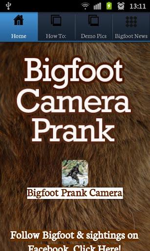 Bigfoot Camera Prank