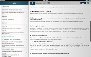 Screenshot of SUS para Concursos