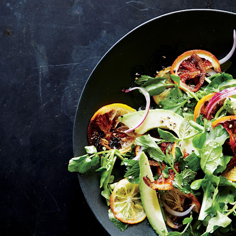 Roasted Citrus and Avocado Salad