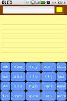 Screenshot of smallQWERTY (for MQ-1000B)